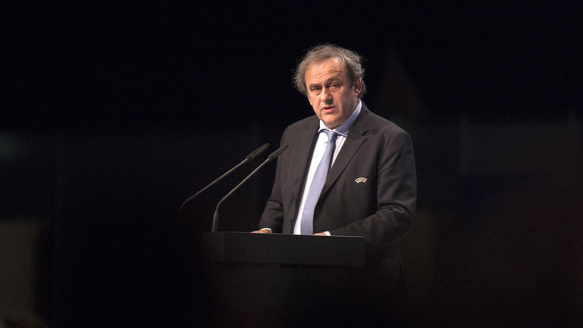 Michel Platini 24052015
