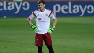 Iker Casillas Spain EC Qualification 27032015