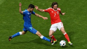 Joe Allen Wales Slovakia EURO