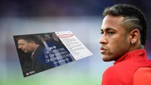 GFX Neymar Bartomeu Instagram