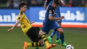 Weigl, Kramaric, Dortmund - Hoffenheim, 06052017