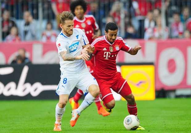 Der FC Bayern kommt zuhause gegen die TSG 1899 Hoffenheim nicht über ein Remis hinaus