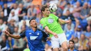 Bundesliga Sandro Wagner Philipp Wollscheid 1899 Hoffenheim VfL Wolfsburg