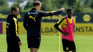 ONLY GERMANY Thomas Tuchel Ousmane Dembele Borussia Dortmund