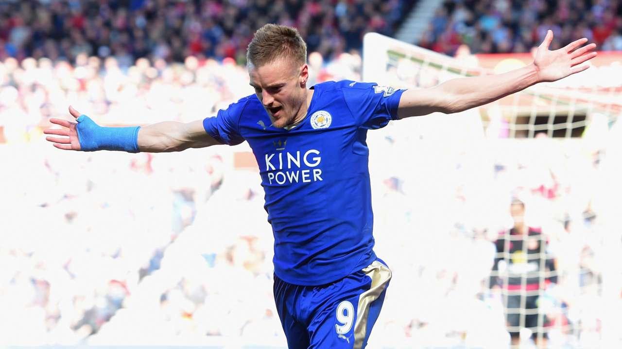 Jamie Vardy Leicester City Premier League against Sunderland 10042016