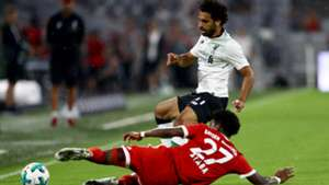David Alaba, Mohamed Salah, Audi Cup 2017, Liverpool Bayern, 01082017