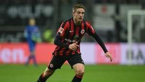 Bastian Oczipka Eintracht Frankfurt v Borussia Dortmund - Bundesliga 11302014