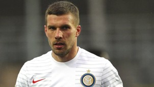 Lukas Podolski Inter Mailand 02152015