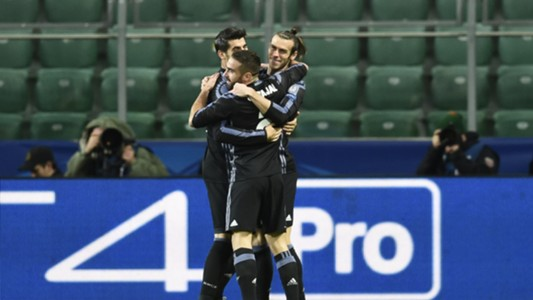 Gareth Bale Real Madrid Champions League 02112016