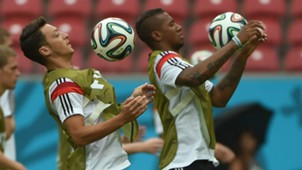 Mesut Ozil Jerome Boateng Germany