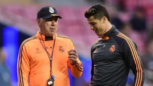 Carlo Ancelotti, Cristiano Ronaldo 05232014