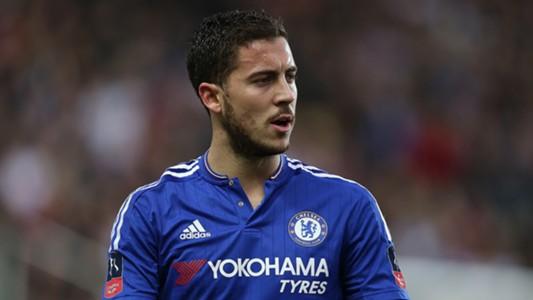 Eden Hazard FC Chelsea Milton Keynes Dons FA Cup 01312016