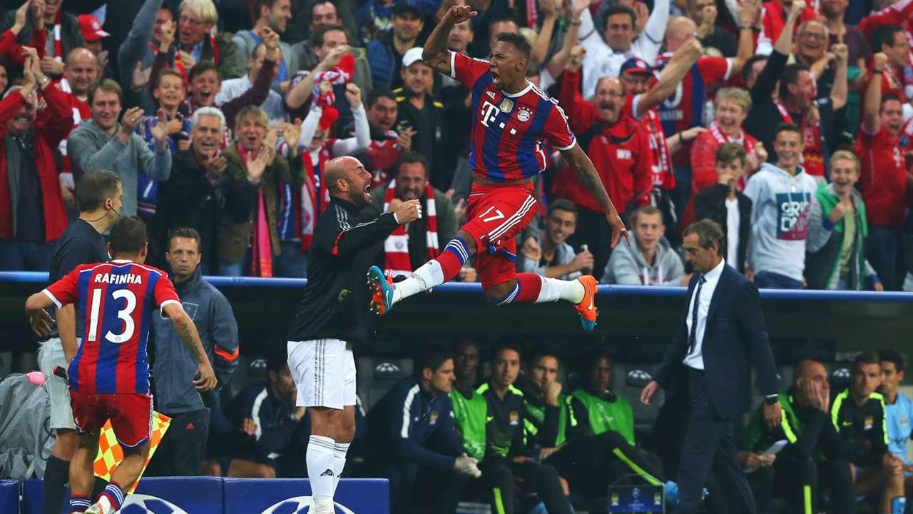 FC Bayern - Manchester City, Champions League, Jerome Boateng 17092014