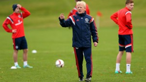 Gordon Strachan Schottland Scotland Training