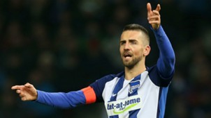 VEDAD IBISEVIC HERTHA BERLIN GERMAN BUNDESLIGA 10122016