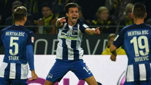 VALENTIN STOCKER HERTHA BSC BERLIN GERMAN BUNDESLIGA 14102016