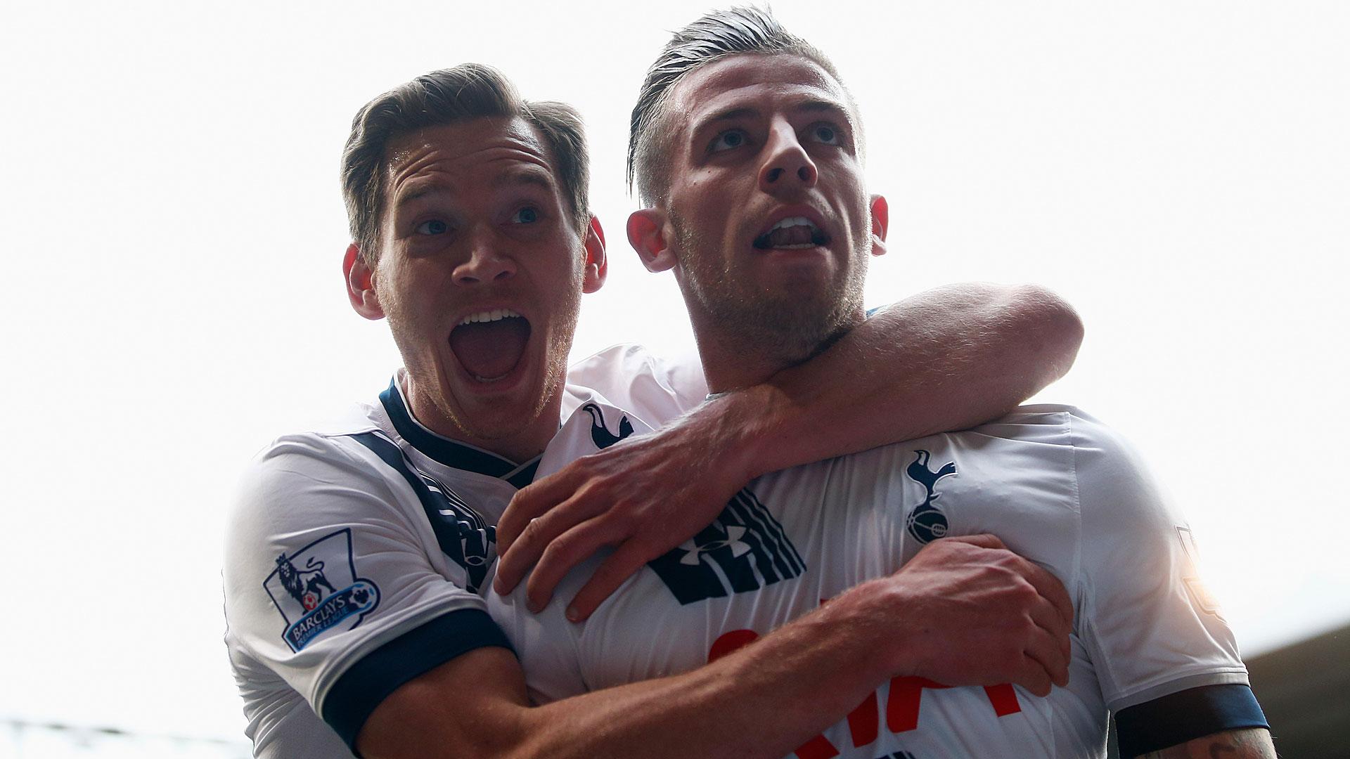 Toby Alderweireld Tottenham Hotspur  Jan Vertonghen 10042016