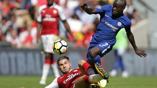 N'golo Kante, Kolasinac, Community Shield, Arsenal Chelsea, 06082017
