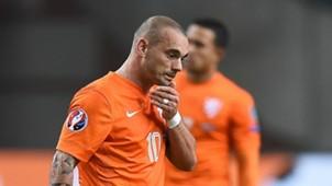 Wesley Sneijder Niederlande Tschechien 13102015