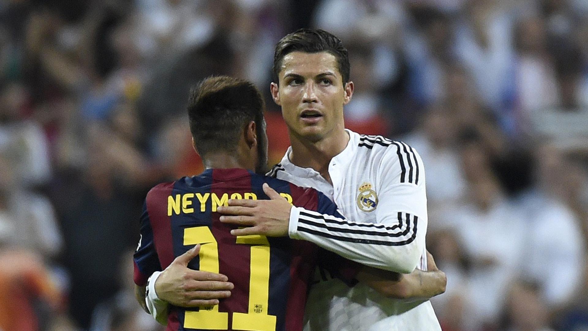 Cristiano Ronaldo Neymar 25102014