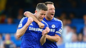 Gary Cahill John Terry FC Chelsea Manchester United Premier League 04182015