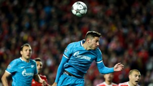 Javi Garcia SL Benfica Lissabon Zenit St Sankt Petersburg UEFA Champions League 16022016