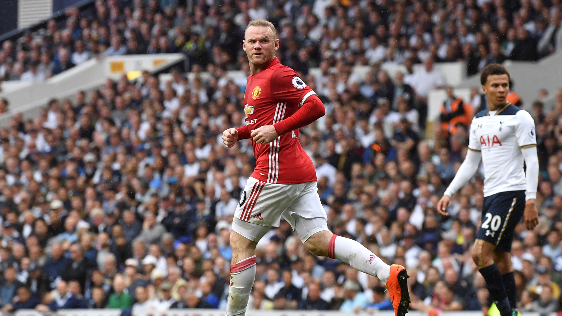 Wayne Rooney Tottenham Manchester united