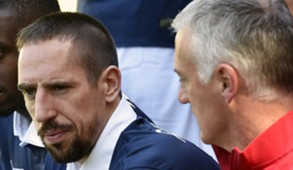 Franck Ribery Didier Deschamps France 2014