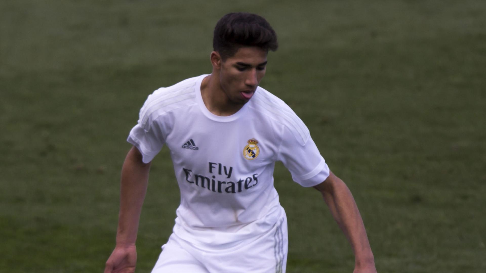 Achraf Hakimi Real Madrid 08032016