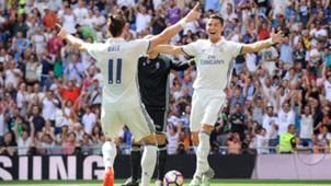 Gareth Bale Cristiano Ronaldo Real Madrid 10092016