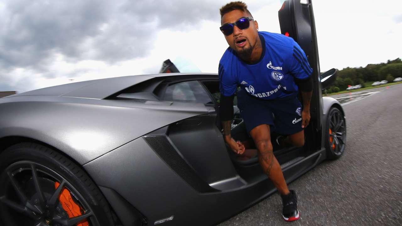 Kevin-Prince Boateng FC Schalke 04 12082014