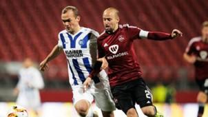 1. FC Nürnberg Nuremberg Karlsruher SC Erwin Hoffer Miso Brecko 2. Bundesliga 02112015