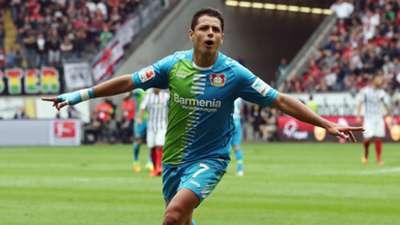 Javier Hernandez Chicharito Bayer Leverkusen Bundesliga 17092016