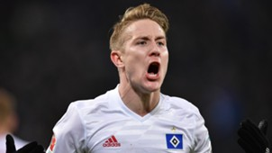 Lewis Holtby Hamburger SV Bundesliga 18022017