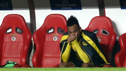 Pierre-Emerick Aubameyang Borussia Dortmund Champions League 14022017