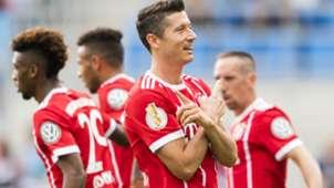 Robert Lewandowski FC Bayern DFB Pokal 12082017