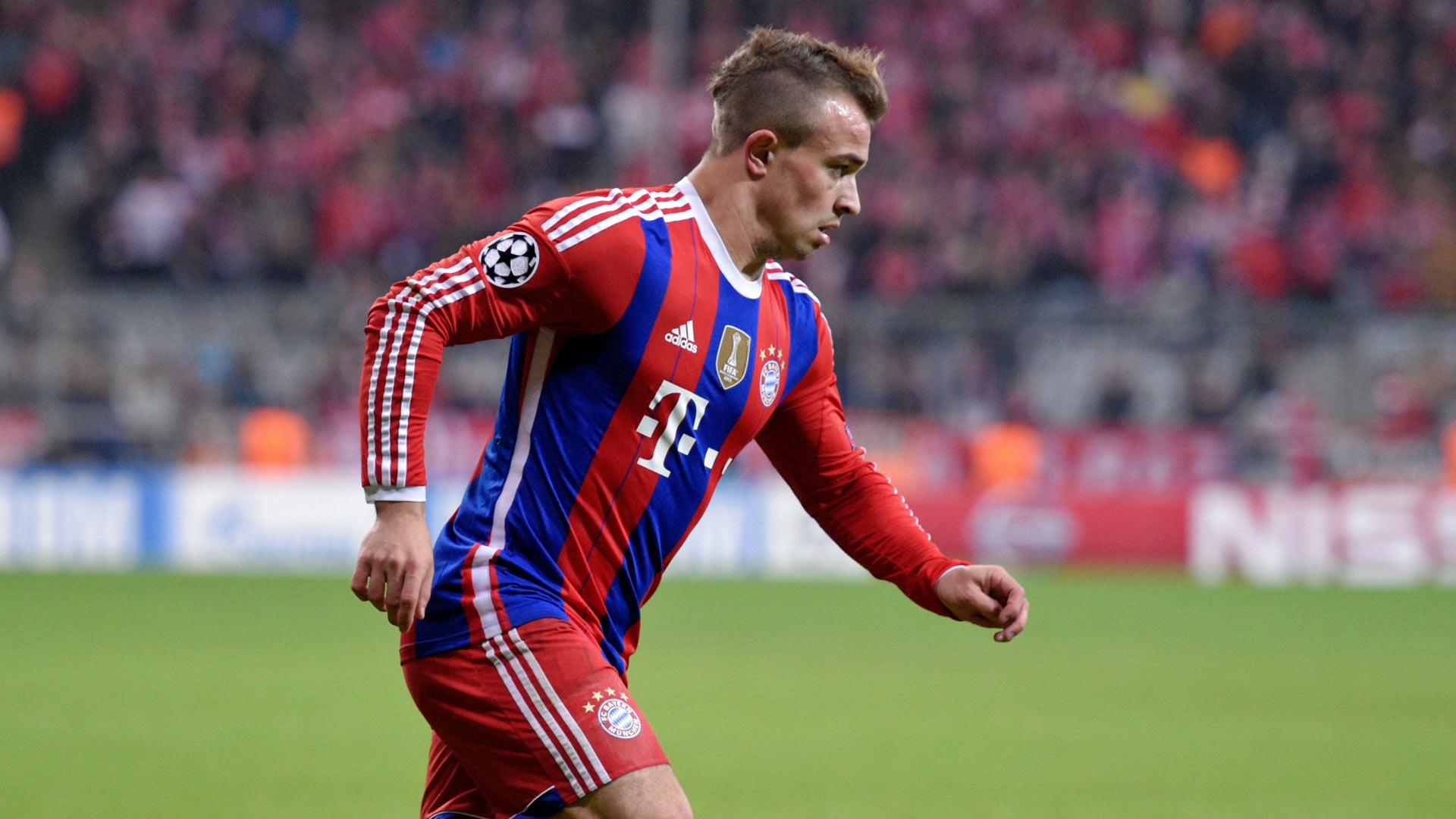 Xherdan Shaqiri FC Bayern Muenchen  05112014
