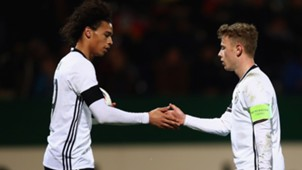 Leroy Sane & Max Meyer Germany Under 21