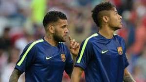 Dani Alves Neymar FC Barcelona Bayern Munchen Champions League 05122015