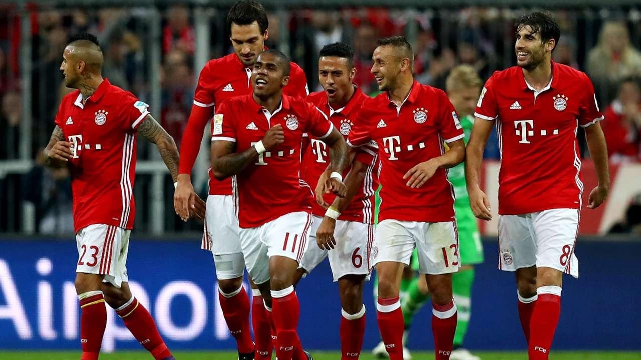 Bayern München Gladbach Bundesliga 22102016