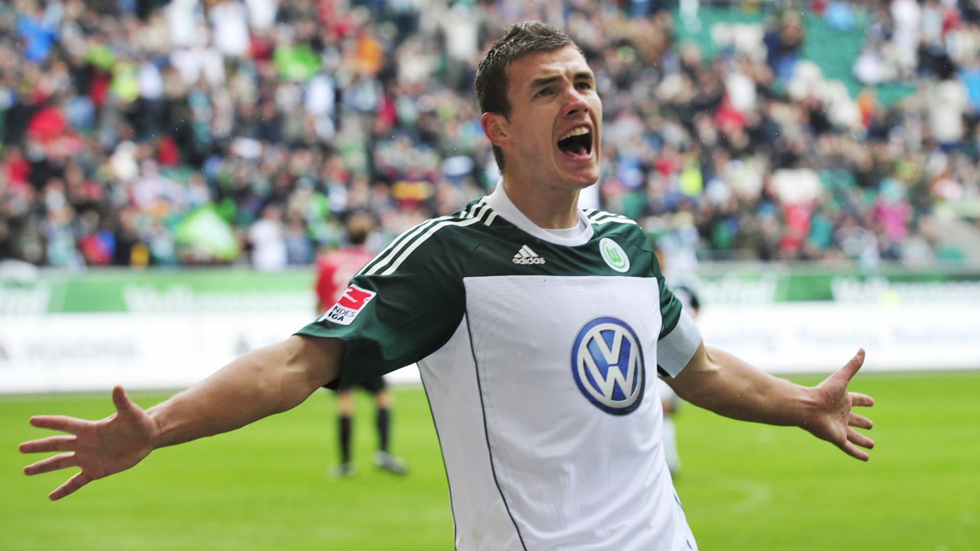 Edin Dzeko VfL Wolfsburg
