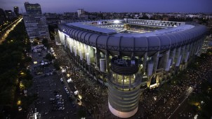 Estadio Santiago Bernabeu Real Madrid Stadion 29082015