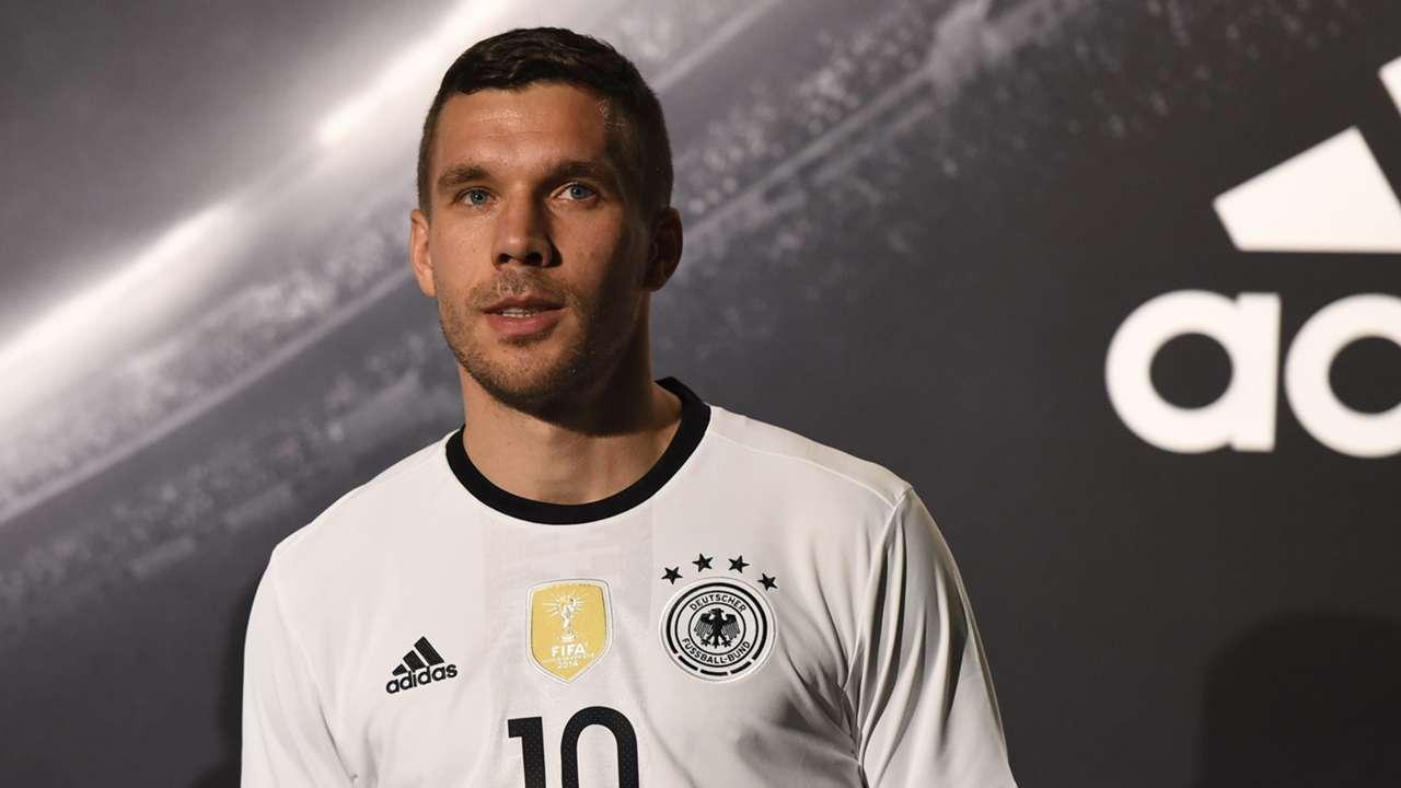 Lukas Podolski DFB EURO 2016 Trikotveröffentlichung Germany 11.09.2015