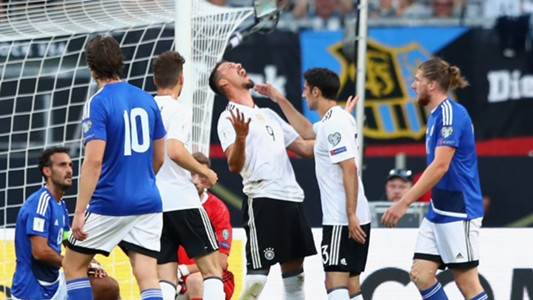 Sandro Wagner Deutschland DFB San Marino Germany 10062017