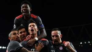 Robert Lewandowski David Alaba FC Arsenal FC Bayern München Champions League 030717