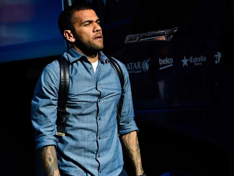 Dani Alves verabschiedet sich vom FC Barcelona