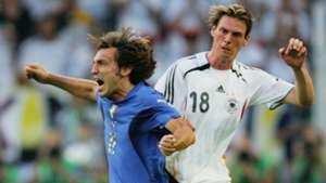 Andrea Pirlo Tim Borowski DFB Deutschland 2006