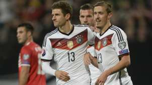 Thomas Muller Max Kruse Germany Gibraltar European Qualifiers 14112014