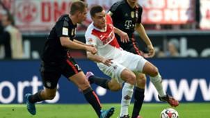 FC Bayern Munchen 1 FC Koln Philipp Lahm Jonas Hector Bundesliga 27092014