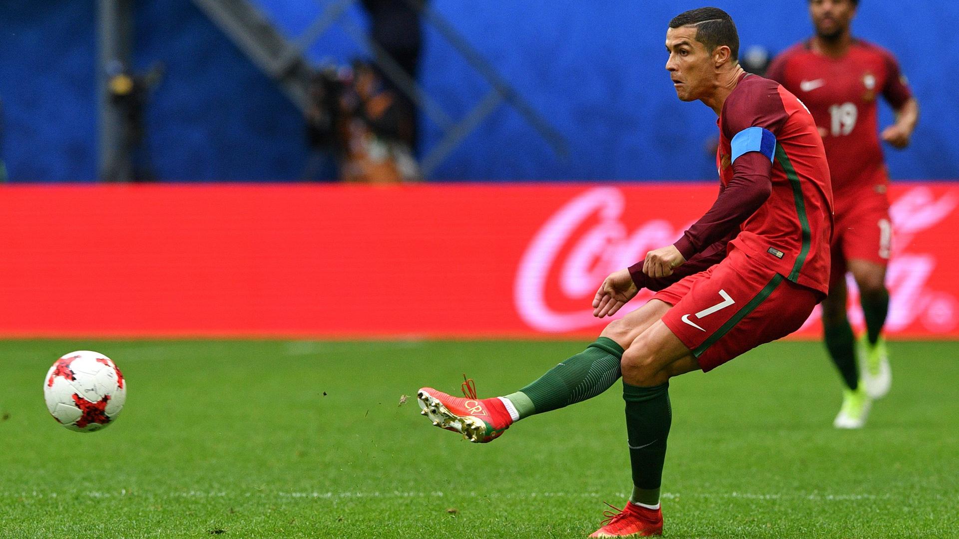 Cristiano Ronaldo Portugal New Zealand Neuseeland 24062017